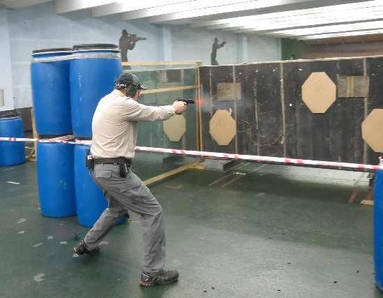 Dynamic shooting pistool/PCC level 2