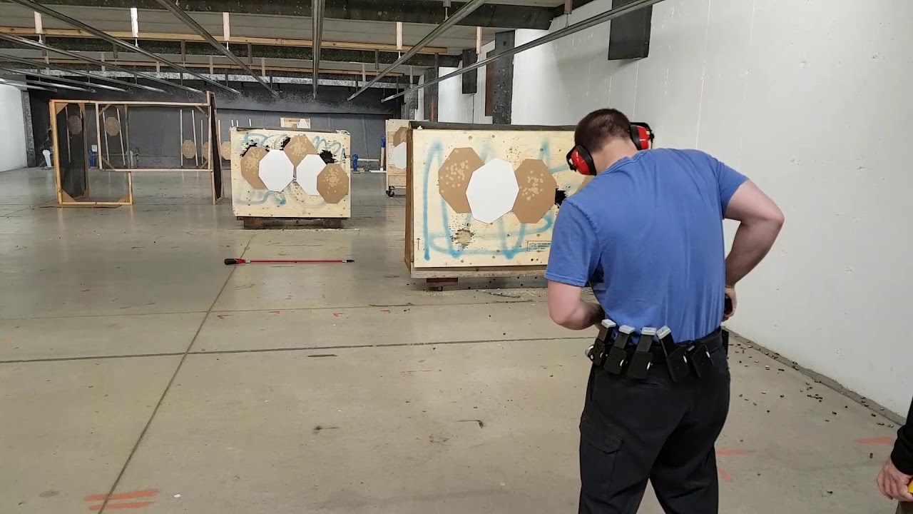 Dynamic shooting pistool/PCC parcours