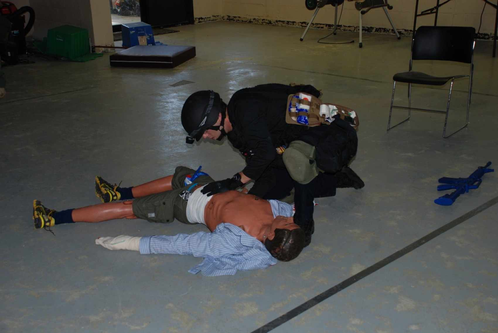 Tactical Emergency Casualty Care: Level 3
